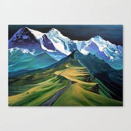 The Hike Canvas Print