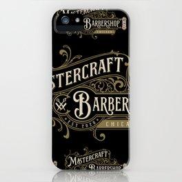 Mastercraft Logos 1 iPhone Case
