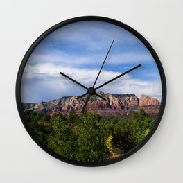 Desert Oasis / Sedona, Arizona Wall Clock