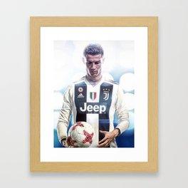 Cristiano Ronaldo To Juventus Framed Art Print