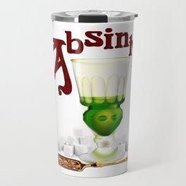 """Absinthe Makith The Heart Grow Fonder!"" #1 Travel Mug"
