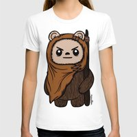 ewok T-shirts featuring Cartoon Ewok by Team Rapscallion
