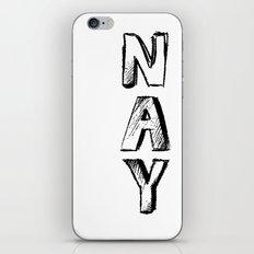 NAY iPhone & iPod Skin