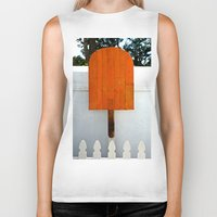 popsicle Biker Tanks featuring Popsicle  by Photaugraffiti