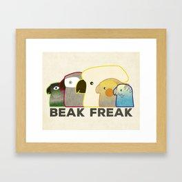 Beak Freak Framed Art Print