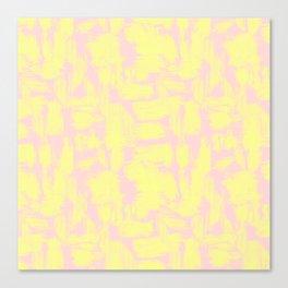 pink yellow Canvas Print