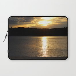 Sunset at Concord's Walden Pond 9 Laptop Sleeve