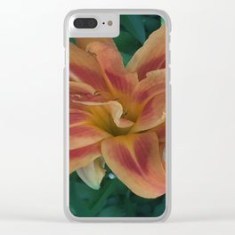 Botanical Florals Zencolor1 Clear iPhone Case