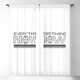 Everything Now Blackout Curtain