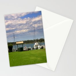 Town Centre - Metung - Australia Stationery Cards