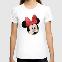 minnie mouse T-shirts featuring So cute Minnie Mouse by Yuliya L