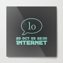 The Internet 50 - 29 Oct 69 Metal Print