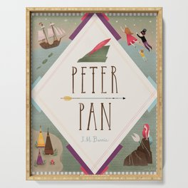 Peter Pan Serving Tray