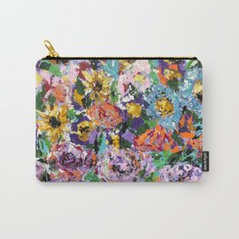 Windy Blossom Carry-All Pouch