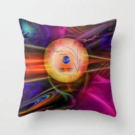 Abstract in perfection -Meditation Throw Pillow