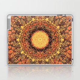 Marigold Mandala Laptop & iPad Skin