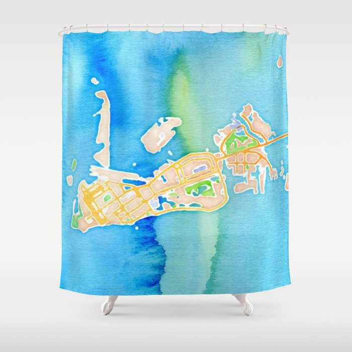 Key West Florida Shower Curtain