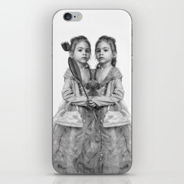 Sisters Twins iPhone Skin