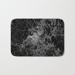 nashville map Bath Mat