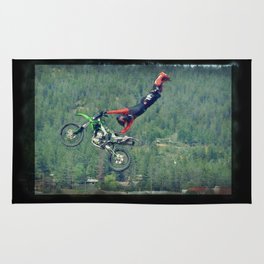 MotoCross King Rug