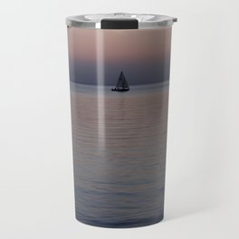 Tropical sea sunset Travel Mug