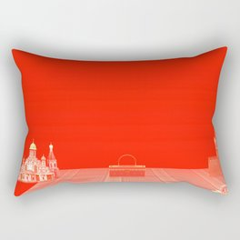 Squared: Objects For Sell Rectangular Pillow