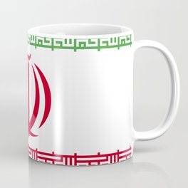 Iran flag emblem Coffee Mug