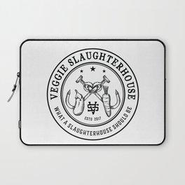 Veggie Slaughterhouse Certified Badge Laptop Sleeve