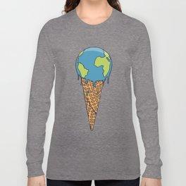 Earth Cream Cone Long Sleeve T-shirt