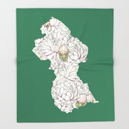 Guyana Throw Blanket