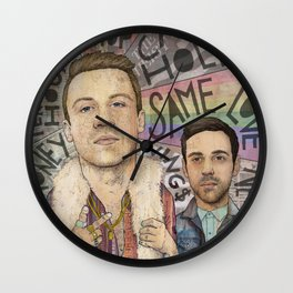 Macklemore & Ryan Lewis - The Heist Wall Clock