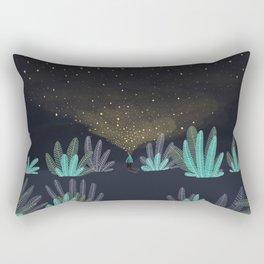 One million little lights for a million dreams Rectangular Pillow