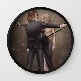 All That Glitters Is Not Gold Wall Clock