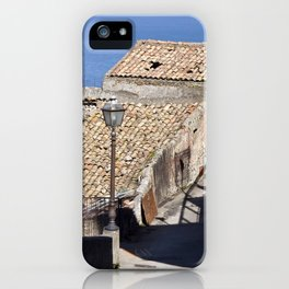 """Old Abandoned Farmhouse - Sicily - """"Vacancy"""" zine  iPhone Case"""