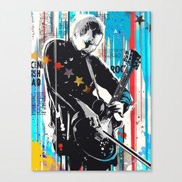Sigur Ros Pop art Style Canvas Print