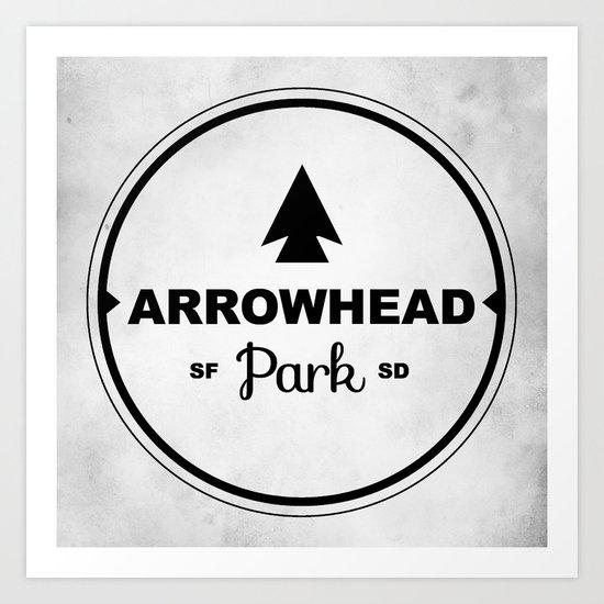 Arrowhead Park Art Print