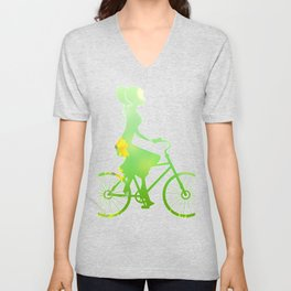 Cycling 353 Unisex V-Neck