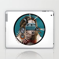 She really loves to smoke in her car Laptop & iPad Skin