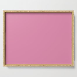 Cheap Solid Dark Cadillac Pink Color Serving Tray