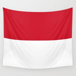 Flag: Indonesia Wall Tapestry