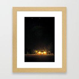 amplitude Framed Art Print