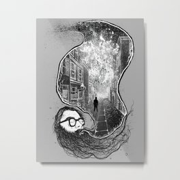 Ginsberg - Howl  Metal Print