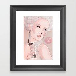 Marie Antoinette (Let Them Eat Cake) Framed Art Print