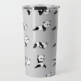 Yoga Bear - Panda Travel Mug