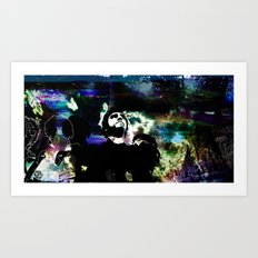 Out of the clouds Art Print