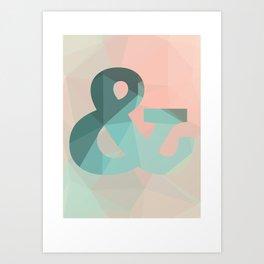& poster Art Print