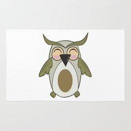 Owl - Nightbird Bird Nocturnal Rug