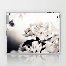 Black and White Flowers 2 Laptop & iPad Skin