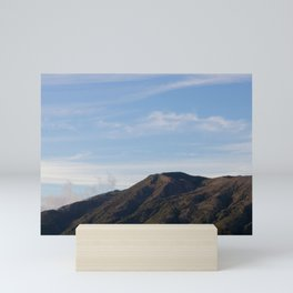 nice view of a volcano at the pacific side Mini Art Print