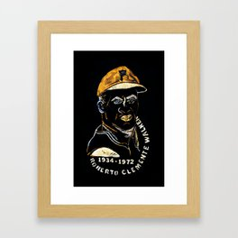 Clemente 02 Framed Art Print